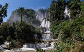น้ำตกทีลอซู จ.ตากน้ำตกที่สวยงามในไทย