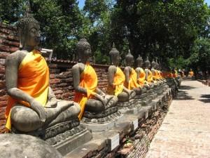 พระนครศรีอยุธยา วัดใหญ่ชัยมงคลโบราณสถานของไทยที่งดงาม
