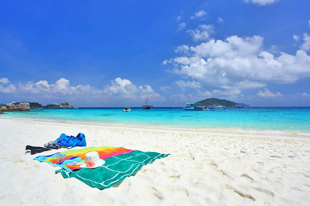 แนะนำสถานที่ท่องเที่ยวทะเลในประเทศไทยที่สวยงาม