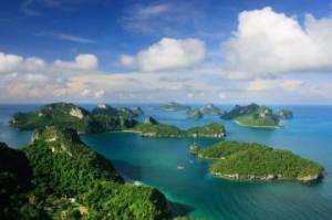 หลับ อุทยานแห่งชาติหมู่เกาะอ่างทอง จังหวัดสุราษฎร์ธานีสถานที่ยอดนิยม