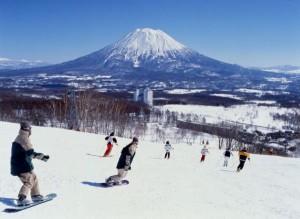 รีสอร์ทเล่นสกีขนาดใหญ่ของชาวญี่ปุ่น