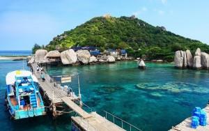เกาะนางยวนสถานที่ท่องเที่ยวยอดนิยมของไทยที่มีชื่อเสียง
