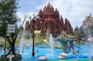 สวนน้ำสวนสนุกในโฮจิมินห์ เวียดนาม แหล่งท่องเที่ยวยอดนิยมที่มีชื่อเสียงของคนเวียดนาม