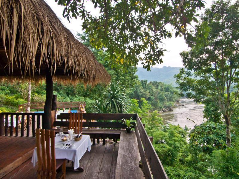 ที่พักสวยราคาไม่แพง ติดริมน้ำและธรรมชาติ ในจังหวัดกาญจนบุรี