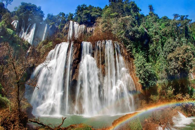 น้ำตกทีลอเล-น้ำตกทีลอซู-น้ำตกปิตุ๊โกร-เที่ยวน้ำตกที่สวยที่สุดในจังหวัดตาก